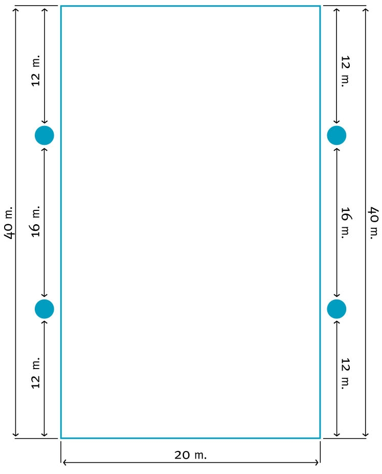 20x40 Lichtplan C | Segers Paardensport