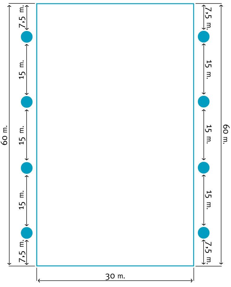 30x60 Lichtplan C | Segers Paardensport