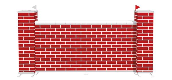 Muren - Mauern Brick White