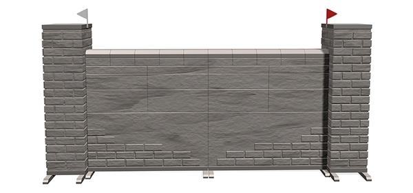 Muren - Mauern Nature Sone Grey