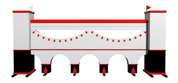 Muren - Mauern Viaduct White