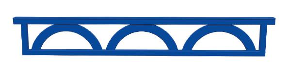Planken en hekken - blue bridge