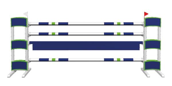Alu basic - blue bow
