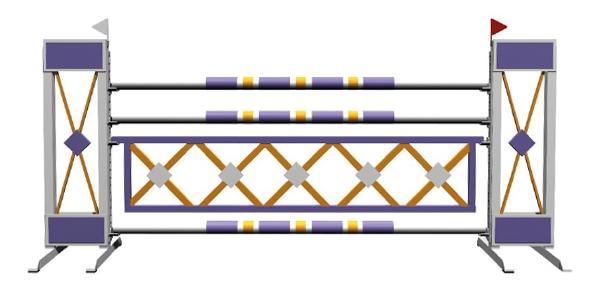 Alu basic - criss-cross